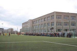 FC Dziugas palaikymas dirbtines dangos stadione